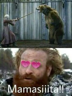 Tormund and Brienne