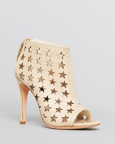 Alice + Olivia Open Toe Booties - Giovanna High Heel from Bloomingdale's on Catalog Spree