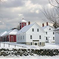 Winter at Canterbury Shaker Village, New Hampshire.  Limited Edition Fine Art Print of 50 available.   All Content is Copyright of Kathie Fife Photography. Downloading, copying and using images without permission is a violation of Copyright.
