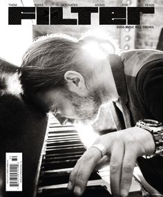 Michael Muller photographs Thom Yorke in London for Filter cover story