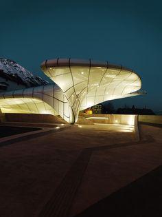 Hungerburgbahn | Architect Zaha Hadid
