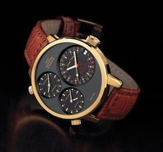Glycine Airman 7 Gold