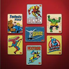 •Tin comic plates• RA