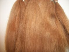 1/2 oz. Combed Suri Alpaca  Fiber / doll hair / fiber artist  / Re- born / Reroot / (F-13). $16.00, via Etsy.