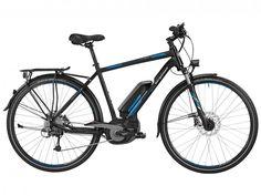 """Vélo électrique Bergamont E-Line C Deore Active 400 Gent 28"""" noir/bleu/gris mat 2016"""