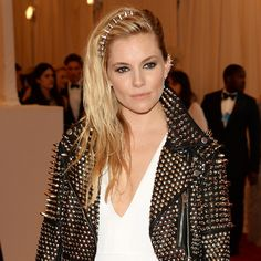 Met Gala: Sienna Miller and Cara Delevingne Face Off in Burberry Studs