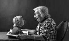 un fils fait de l'art avec sa mère de 91 ans pour la faire sentir à nouveau jeune - 2Tout2Rien