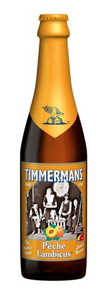 Timmermans Pêche Lambicus - You have to try things once right? Not sure I'll try it again though.