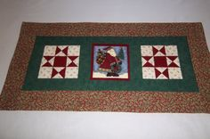Christmas Table Runner Country Christmas Old by PatsysPatchwork, $23.00