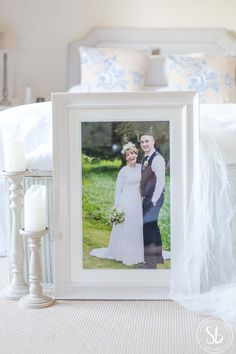 White Heritage Frame-Sarah Brookes Photography