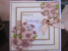 Triple Stamped Birthday by Michele G - Cards and Paper Crafts at Splitcoaststampers