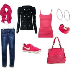 sweet pink casual