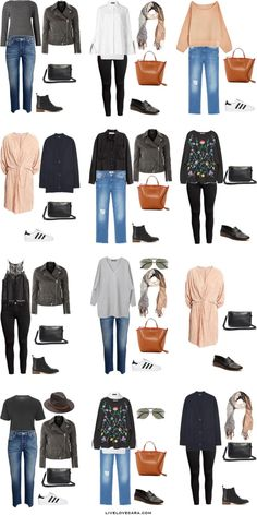 What to Wear on a European Vacationr in Paris, Italy, Greece Outfit Options 13-24 Packing Light List #packinglist #packinglight #travellight #travel #livelovesara