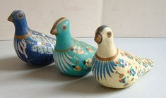 Mexican Pottery - Three Doves