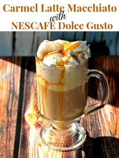 "Carmel Latte Macchiato with NESCAFÉ Dolce Gusto *Giveaway ends Dec. 30th"" #MC"