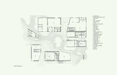 In Progress: Pomona College Studio Art Hall / wHY Architecture Why Architecture, Claremont Colleges, Pomona College, School Plan, Art Studios, Floor Plans, How To Plan, Studio Art, Gallery