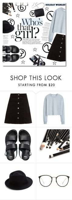 """What's on Your Wish List"" by maayan-styles ❤ liked on Polyvore featuring MANGO, ASOS, Chanel, 3.1 Phillip Lim, Eugenia Kim, Linda Farrow, contestentry and 2015wishlist"
