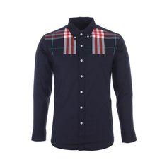 Mens Slim Fit Half Check Casual Shirts (£24) found on Polyvore Casual Button Down Shirts, Casual Shirts, Slim Man, Mens Fitness, Shirt Dress, Sweaters, Mens Tops, Dresses, Check