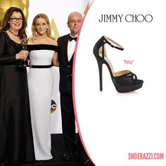 Reese Witherspoon wore Jimmy Choo Patsy sandals to the 2015 Academy Awards held at the Dolby Theatre in Hollywood. continue reading →
