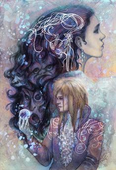 "Alice Meichi Li ""As the World Falls Down"" Print"