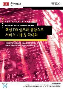 핵심 DB 인프라 통합으로 서비스 가용성 극대화