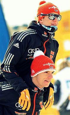 Andreas Wellinger&Andreas Wank