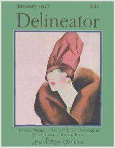 Delineator, January 1927 by Helen Dryden