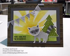 Foxy Friends Bundle coming June 1st 2016-2017 Stampin' Up! Annual Catalog Sneak Peek shared by Dawn Olchefske #dostamping
