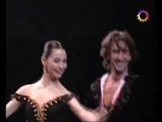 Julio Bocca.. hair flying.. and Tamara Rojo... ignoring the choreography so she can balance forever... give a GREAT performance of Don Q pdd