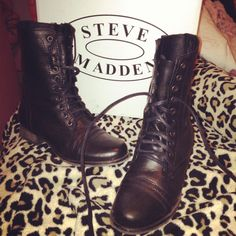 50aa7885d4 11 Best Shoes <3 images in 2014 | Black combat boots, Ankle Boots ...