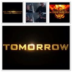 TOMORROW TOMORROW TOMORROW