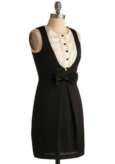 Tuxedo Dress. Love and love and love some more.