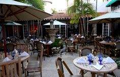 After a stroll on Worth Avenue, Renato's is the ultimate place for a romantic dinner. Make sure you request a table in the courtyard.--Michael Kors