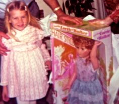 1970s MUST HAVE --- Doll the size of you.