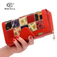 Hot Sale Clutch Women Wallets with Coin Pocket Female Money Bags Fashion Genuine… #BlackFriday is coming early #BestPrice #CyberMonday