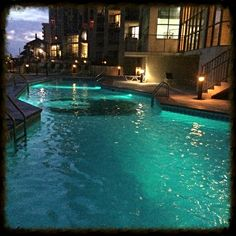 Another view of the beautiful condo pool. #BRbeachlife