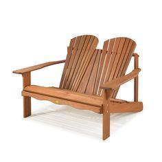 Casa de Valentina - Cadeira de Descanso Dupla - Jatobá