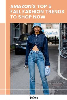 These are the top five fall fashion trends worth investing in for 2021, according to the style experts at Amazon. #fall #fashion #Amazon Fall Fashion Trends, Fall Trends, Autumn Fashion, Suede Jacket, Leather Jacket, Ulla Johnson Dress, Eliza J Dresses, Flare Pants, Hooded Sweatshirts