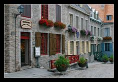 Old Quebec City has the feel and charm of an old European city and it is our country.