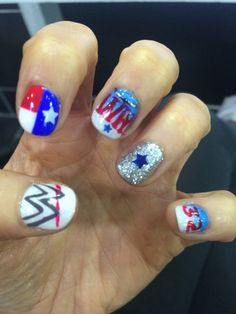 Wrestlemania Nails