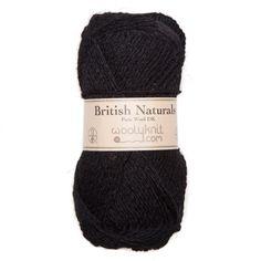 British Naturals - Dyed Black