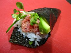 Spicy Tuna Handrolls