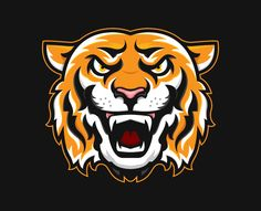 Tiger Paw Clip Art Tigers Mascot In Color Our Products