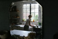 Natural light in the kitchen (Creative Humans - Beth Kirby   Local Milk — lean + meadow)