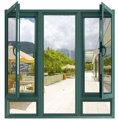 Resalta el color de los marcos y da una impresión de amplitud a tu hogar. Ventana para espacios pequeños, con diseño innovador. Ventanas de PVC, ideales para aislar el ruido en casas pequeñas