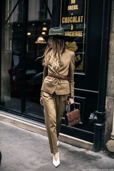 PFW Day 4: Menswear For Women Or How To Rock A Suit