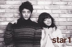 Jung Eun Ji and Seo In Gook for Star1  ~I need to watch Reply1997