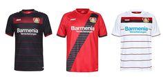 Camisas do Bayer Leverkusen 2016-2017 Jako