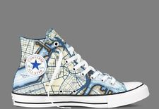 New CONVERSE Chuck Taylor All Star Hi BOSTON Map - LIMITED EDITION
