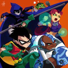 Teen Titans by ~chikinrise on deviantART